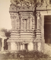 Base of main gopura, Chintalarayasvami Temple [Venkataramana Temple], Tadpatri, Anantapur District